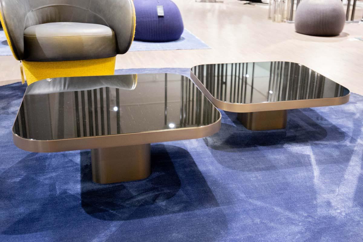 Ausstellungstück im Sale: 2er Set Couchtische Bow Coffee Table No. 2 und No. 3 von Classicon für 2.890 €