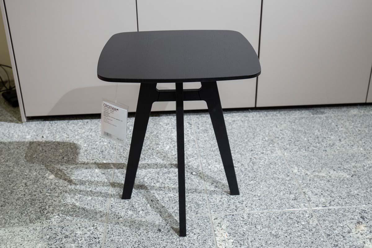 Ausstellungstück im Sale: Beistelltisch Stan schwarz H 49 cm von Möller Design für 490 €