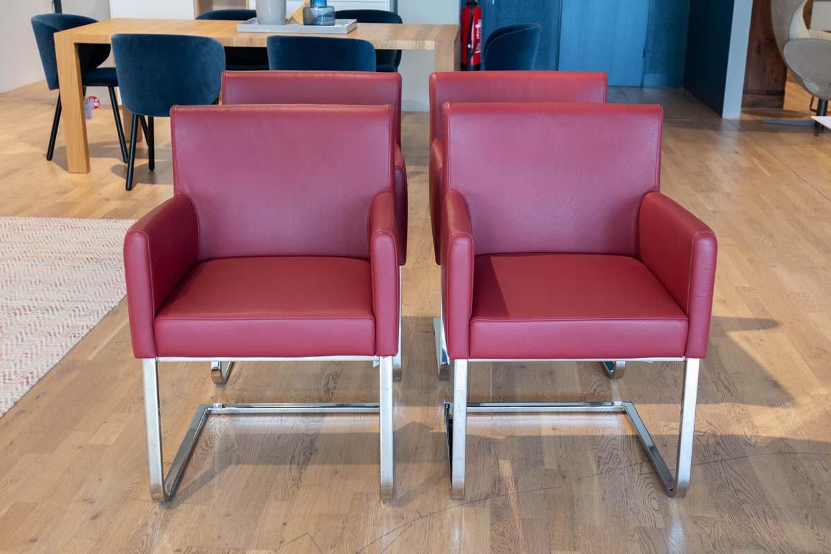 Ausstellungstück im Sale: Stuhlgruppe Kristin von Cramer Polstermanufaktur für 3.049 €