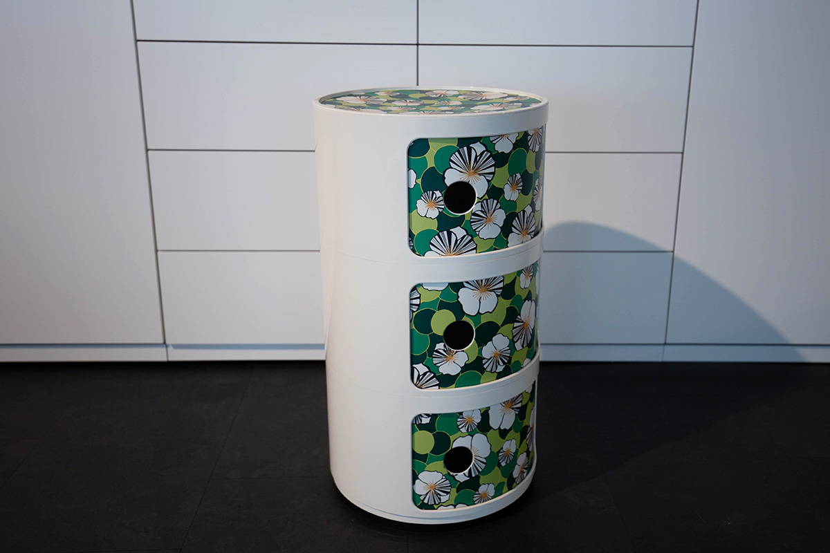 Ausstellungstück im Sale: Rundkommode Componibili von Kartell für 99 €