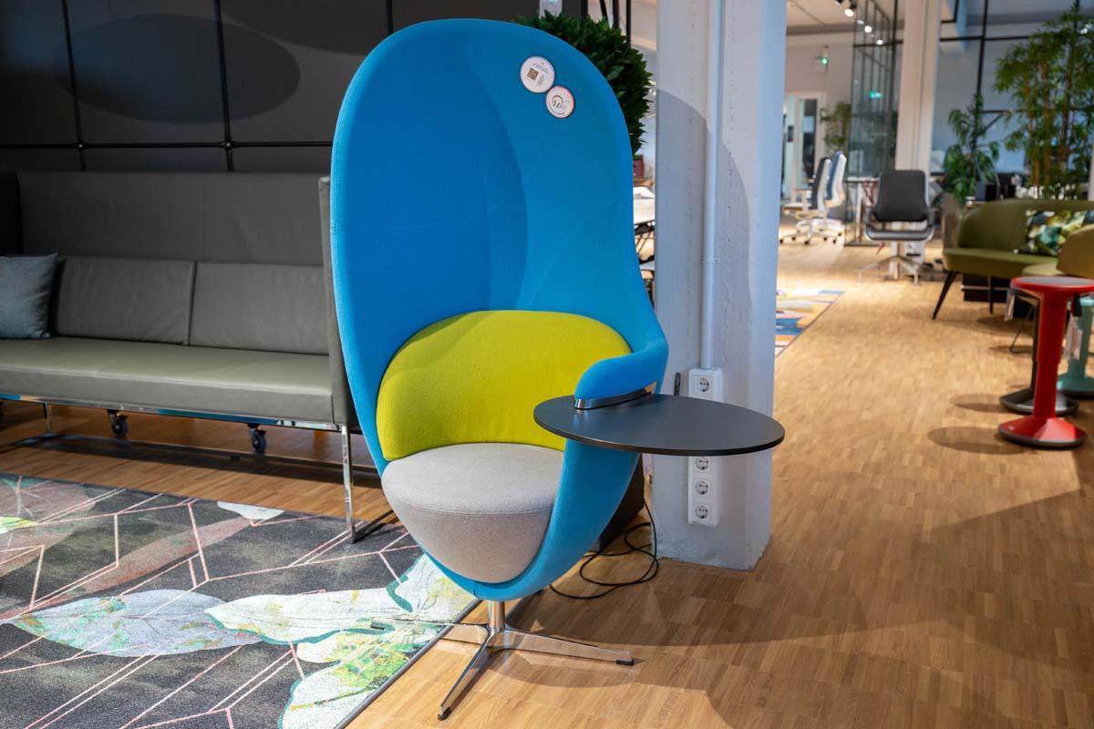 Ausstellungstück im Sale: Drehsessel Net Work Lounge Chair von König + Neurath für 2.600 €