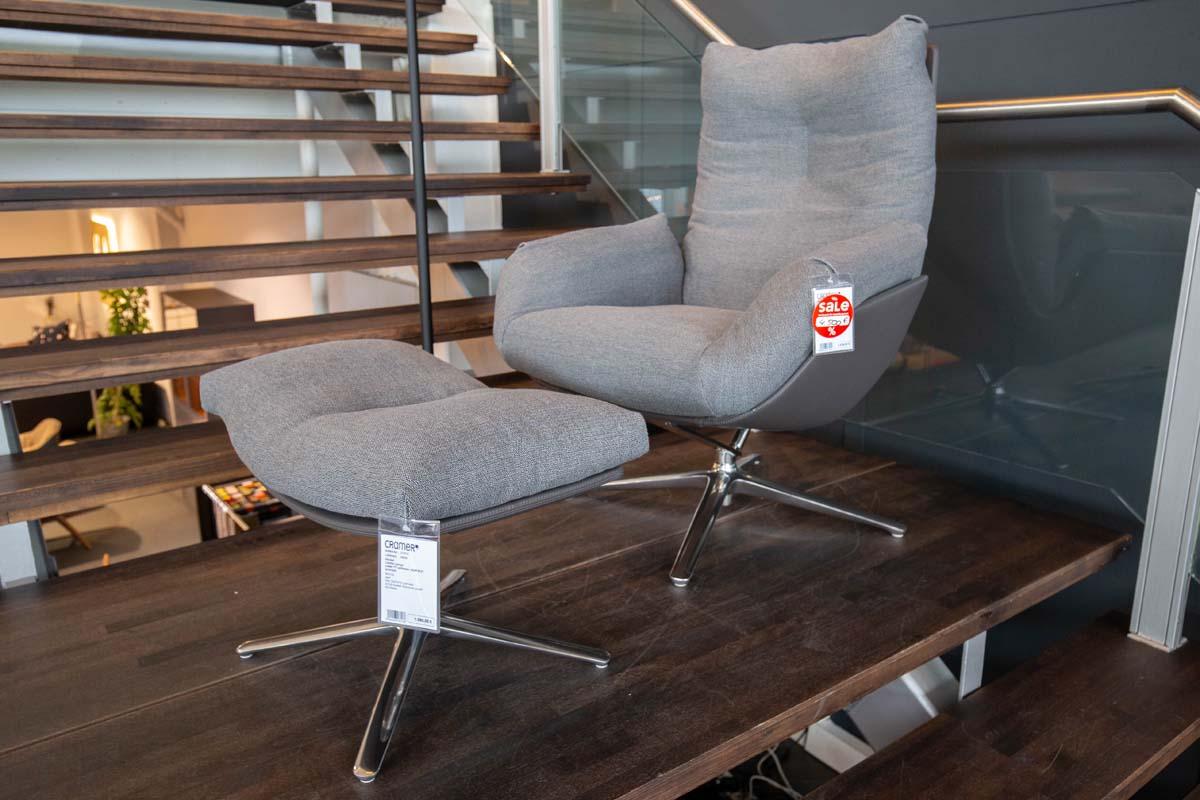 Ausstellungstück im Sale: Sessel Cordia Lounge inkl. Hocker von COR für 4.500 €