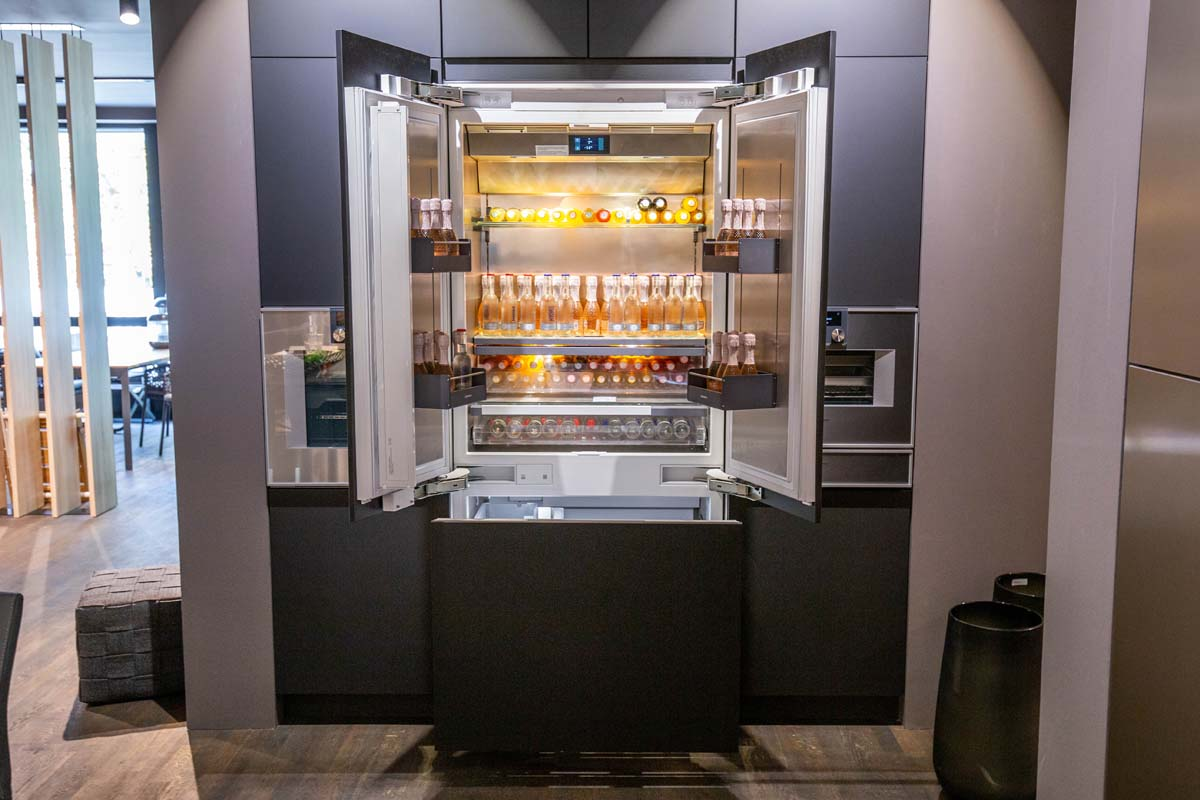 Ausstellungstück im Sale: RY492304 Vario Einbau-Kühl-Gefrier-Kombination mit Gefrierbereich unten, Serie 400 von Gaggenau für 7.999 €