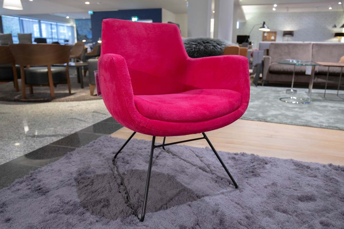Ausstellungstück im Sale: Sessel Pia von Cramer Polstermanufaktur für 990 €