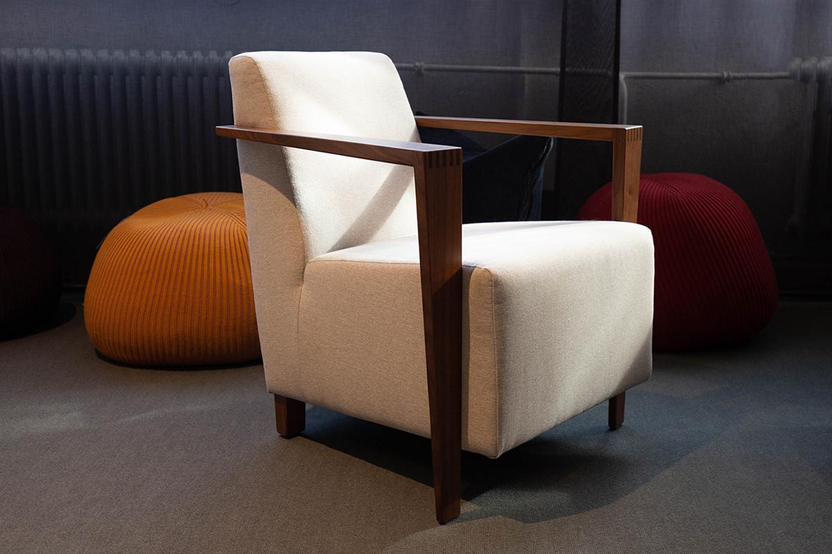 Ausstellungstück im Sale: Sessel Dresden von Franz Fertig für 890 €