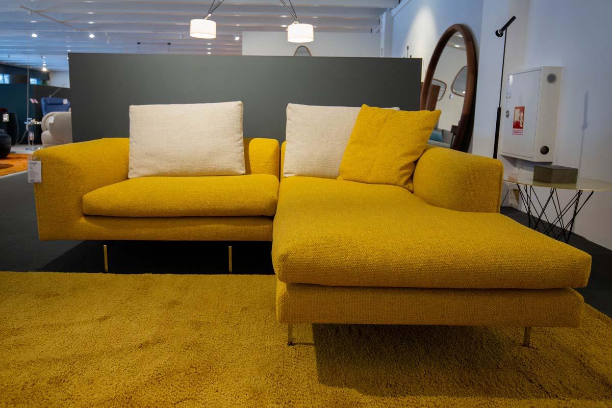 Ausstellungstück im Sale: Ecksofa Mell Lounge maisgelb von COR für 6.490 €